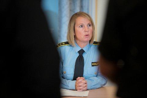 Janne Ringset Heltne, politiadvokat informerte pressen om overgrepsavsløringene på en pressekonferanse søndag 20. november. I dag falt den tredje dommen i sakskomplekset.