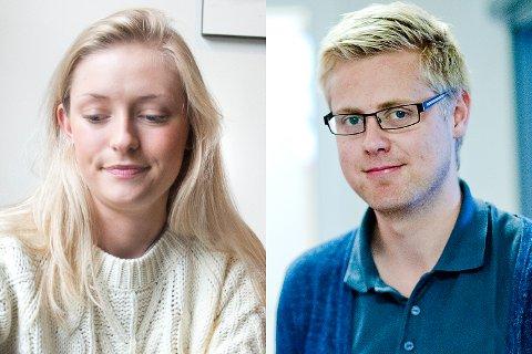 Anine Frølich (H) tok til motmæle da Øystein Hassel (Ap) kom med stikk til Høyre.
