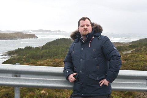Børge Haugetun (TVØ) forteller at Øygarden kommune er godt forberedt på stormen Urd, som skyller innover Vestlandet mandag ettermiddag.
