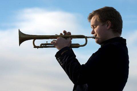 Hans Marius Andersen, trompetist fra Askøy