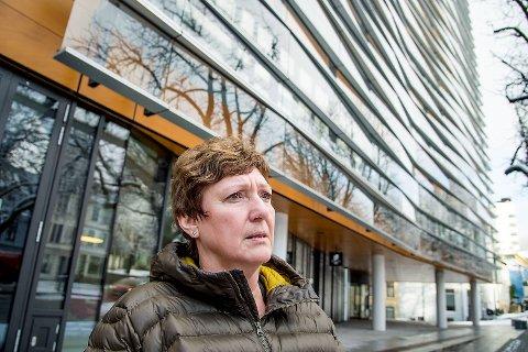 Anne-Marit Hope har vært ansatt i Sparebanken Vest i snart 40 år, og har de siste fire årene vært hovedtillitsvalgt i Finansforbundet, som har cirka 500 medlemmer i banken.