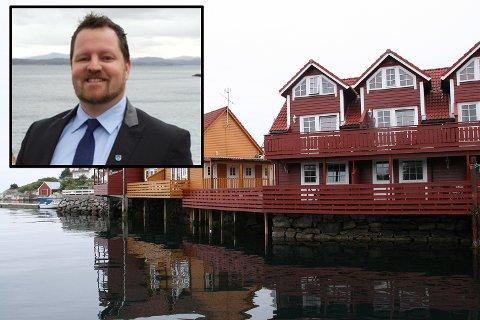 – Fra kommunens side skal vi være konstruktiv og løsningsorientert i forhold til vårt ansvar, sier Øygarden-ordfører Børge Haugetun om etablering av asylmottak med 150 plasser på vesle Natnes Fiskevær.