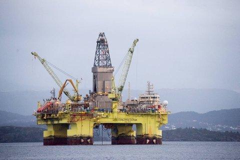 Statoil har sagt opp avtalen med COSL Innovator. Det koster 230 riggansatte jobben. FOTO: MAGNE TURØY