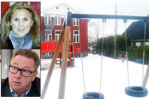 Irina Jonsson eier en liten barnehage i Oslo. Hun må bruke mange tusen kroner på å kjempe mot et inkassokrav fra Easy Connect, her ved Ove Johan Kvamme, som hun mener har lurt dem. Barnehageeier vant i tingretten, men bergensfirmaet slapp å betale erstatning.