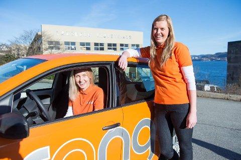 Avdelingsleder Jurgita Strasunske og fagkoordinator Torunn Søgaard i Orange Helse AS sier de blir motiverte av at bedriften stadig vokser.
