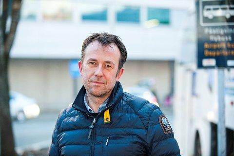 Roger Harkestad, konsersjef i Tide, er fornøyd med at de i fjor fikk drøyt ti millioner kroner i bonus fra Skyss. De er likevel mer enn seks millioner kroner unna toppåret 2012, da de fikk 16,92 millioner kroner i bonus.