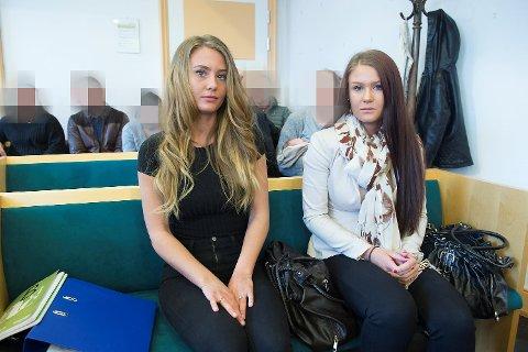 Emilie (22) og Regina Irgens (24) er døtre av avdøde Helge Irgens. De synes det var vondt å høre på Rubyrosas forklaring i retten.