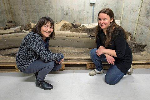 Selv om Anne Karin Hufthammer og Lena Arntsen har undersøkt det gigantiske funnet.