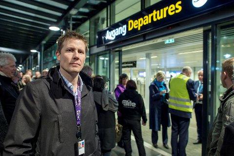 Lufthavndirektør Aslak Sverdrup.