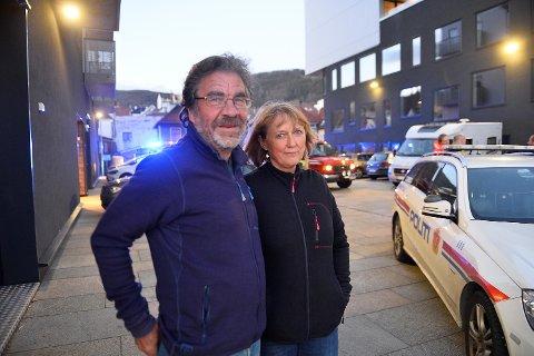 Ekteparet Kjersti Kismul og Knut Hansen havnet midt i den dramatiske redningsaksjonen.