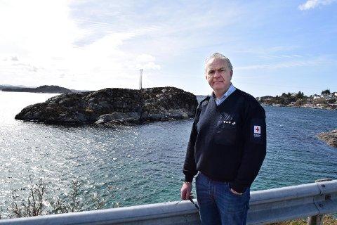 Frivillige som var med på søk etter helikopterulykken på Turøy.
