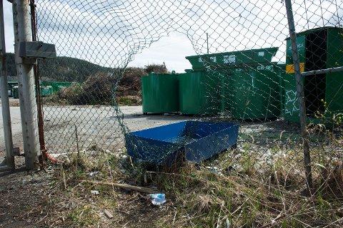 En jente ble funnet i en container inne på et industriområde i Rådalen. Politiet vil ikke bekrefte hvor jentene ble funnet, men etter det BA kjenner til, skal det ha vært i dette området.