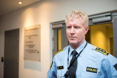 Morten Ørn ved Bergen sør politistasjon.