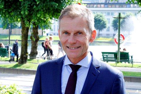 Sverre Gjessing er administrerende direktør i Eiendomsmegler Vest.
