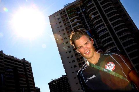 Solen steker i Rio de Janeiro, men kappgjengeren Håvard Haukenes frykter ikke varmen.
