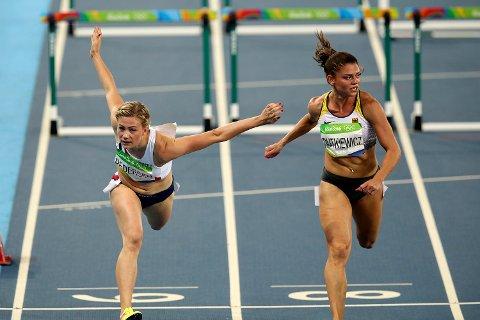 Isabelle Pedersen kastet seg fram, men rakk akkurat ikke OL-finalen på korthekken.