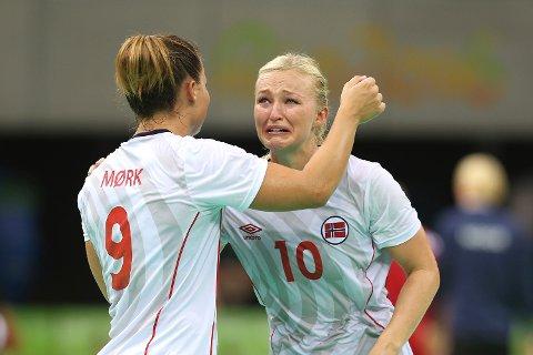 De norske jentene var utrøstelige etter nedturen mot Russland i OL-semifinalen.