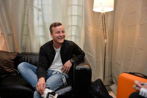 BA møtte Sondre Alvestad, bedre kjent som Sonny Alven, backstage.
