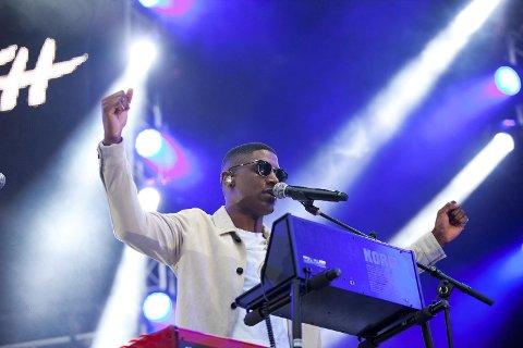 Den britiske sanger, låtskriveren, produsenten og multiinstrumentale, Labrinth.