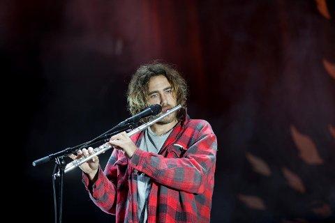 Australske Matt Corby, som er aktuell med debutalbumet «Telluric».