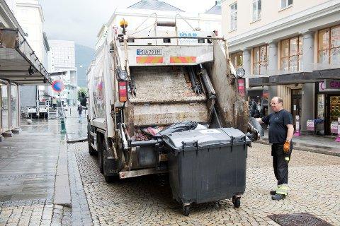 Bergen, Stavanger, Sarpsborg, Stord, Godvik og Stokke er først ut dersom det blir søppelstreik