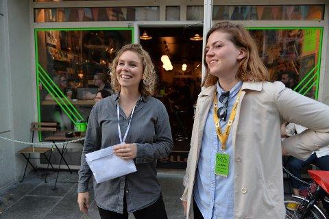 Både daglig leder i Brak, Karen Sofie Sørensen og festivalsjef for Vill Vill Vest, Vilde Blomhoff, er fornøyd med tidenes første Vill Vill Vest-dag.