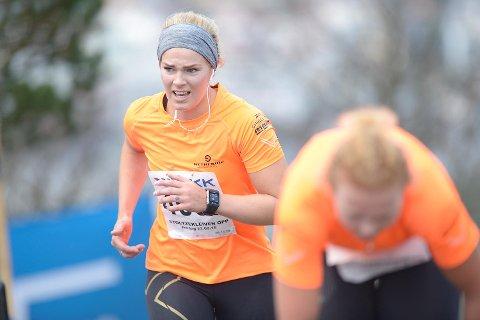 Nina Løseth løp opp Stoltzen med alpinlandslaget. Det ble en tøff tur!