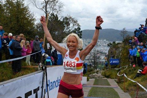 May-Britt Buer fra Gular ble best i dameklassen.
