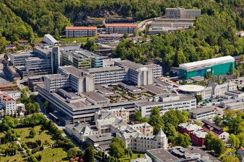 61 ansatte i Helse Bergen er til nå tatt ut i streik.