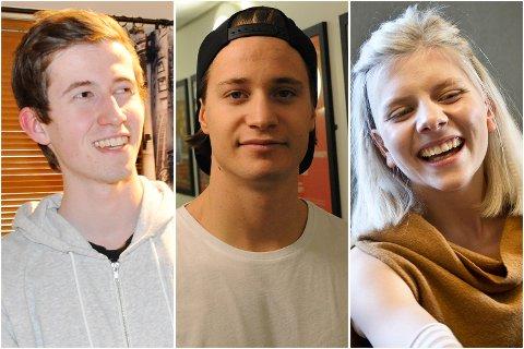 Fra venstre: Alan Walker, Kygo og Aurora Aksnes.
