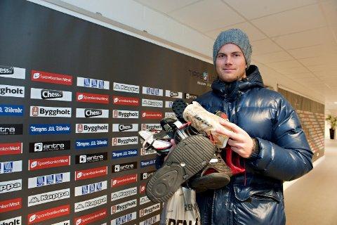 Kenneth Udjus har to perioder som keeper i Brann. Nå skal han spille for Asker i 2. divisjon. (Arkivfoto: Magne Turøy)