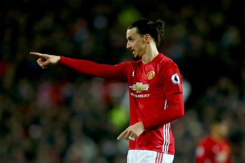Zlatan Ibrahimovic scoret i sluttminuttene mot Liverpool.