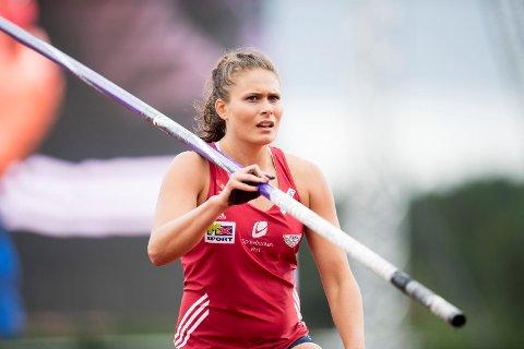 Katrine Haarklau under NM på Askøy i fjor. – Fjoråret var ingen god sesong, da slet jeg mye med frykten for å konkurrere. Men på trening går det veldig bra, og skadene plager meg heller ikke. Så jeg håper jeg kan få til en god sesong i år, sier Haarklau til BA.