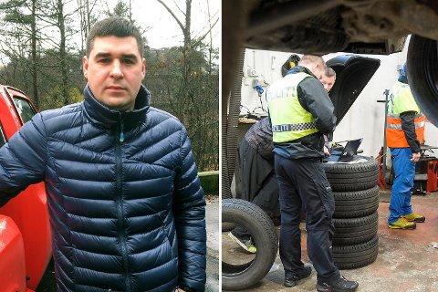 Viktor Batura (33) er daglig leder av Auto 24. Han ble løslatt etter avhør onsdag kveld.