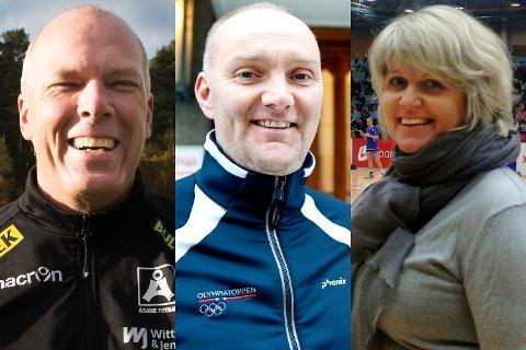 Viking-sjef Roger Gjelsvik (i midten) tjente over én million kroner i 2016, mens styremedlem i Åsane, Roald Bruun-Hanssen, tjente drøyt 750.000. Daglig leder i Tertnes, Marit Brox, står bokført med 382.795 kroner.