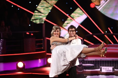 Det ble siste dans for Trude Drevland og Bjørn Wettre Holthe.
