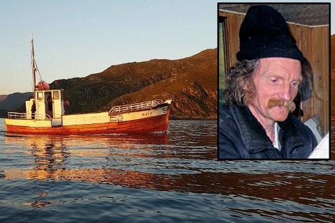 Tom Fagerland (58) kjøpte denne gamle treskøyten i i Kalvåg utenfor Florø torsdag i forrige uke. Siden har ingen sett ham.