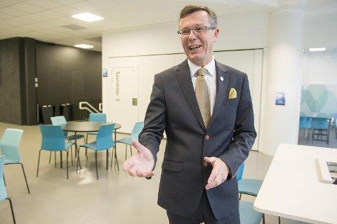 UiB-rektor Dag Rune Olsen. FOTO: MAGNE TURØY