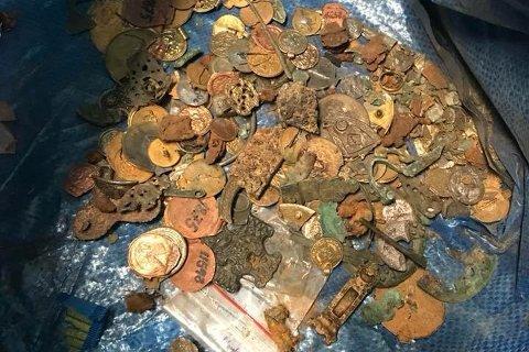Noen av skattene som er funnet igjen etter museumsbrekket.