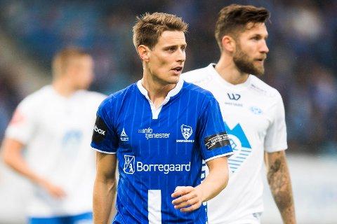 Kristoffer Zachariassen har hatt enorm suksess etter at han ble hentet fra Nest-Sotra til eliteserieklubben Sarpsborg 08 før denne sesongen. 23-åringen spiller cupfinalen mot Lillestrøm på søndag. (Foto: NTB scanpix)