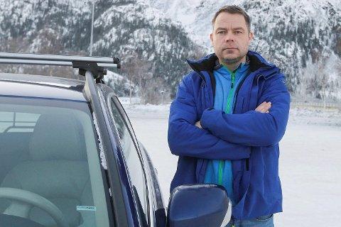 Jon Steinar Linga i Mosjøen ble krevd for penger, fordi hans bil angivelig skal ha rasert et gjerde i Bergen. Det viste seg at avsender hadde fått oppgitt galt registreringsnummer.