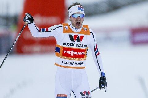 Jørgen Graabak og de norske kombinertguttene vant lagkonkurransen.