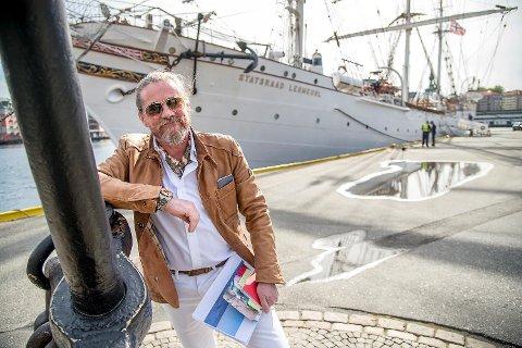 Briten Quentin Smith (52), også kjent som «Captain Q», var piloten på helikopteret som styrtet i sjøen på Sandviksflaket.