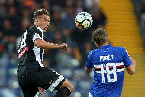 Udinese og Maxi Lopez (t.v.) scoret hele åtte mål mot Perugia i cupen i forrige uke. Har det endelig løsnet for laget fra Udine?