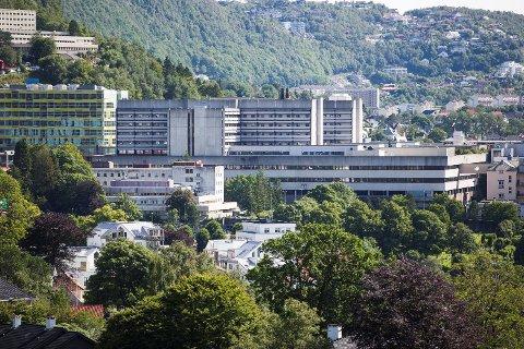 Haukeland sykehus ble onsdag rammet av datafeil.