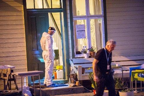 Krimteknisk på åstedet i Evanger natt til 17. juni.