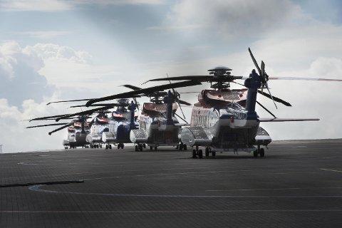 Rundt 100 ansatte i CHC Helikopterservice mister jobben etter at selskapet mistet Statoil-kontrakten. Nå krever Industri Energi at Bristow, som overtar kontrakten, ansetter samtlige. FOTO: ARNE RISTESUND