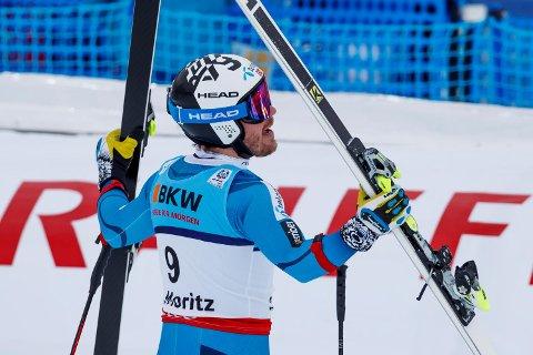 Kjetil Jansrud kjørte ned til sølvmedalje i Super-G under VM i alpint (Foto: Cornelius Poppe/NTB scanpix)