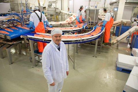 Fra neste uke har fabrikksjef Ragnar Eikeland i Lerøy Fossen AS vesentlig færre ansatte i arbeid. Eikeland henviser til konsernsjef Henning Beltestad i Lerøy Seafood Group for kommentarer.