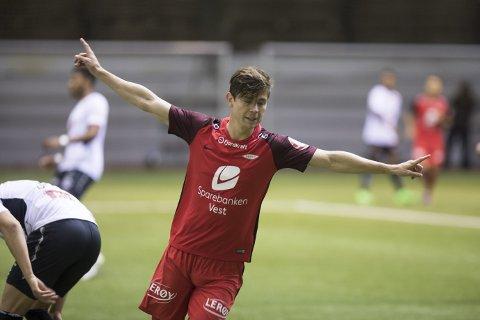 Torgeir Børven har på det nærmeste vært en målgarantist for Brann i vinter. Lørdag scoret han sitt  fjerde i treningskampene, men etterpå var han mest opptatt av det han mente var slett innsats som midtbanespiller etter pause! Kampen endte med 2-1-seier til Sogndal, etter en ruskete 2. omgang med mange bytter hos Brann.